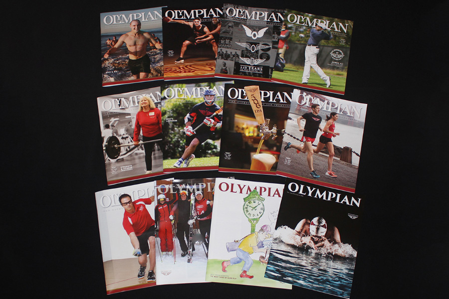 Selection of Olympian Magazines
