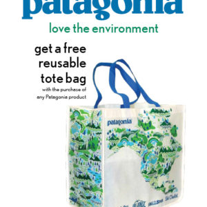 Patagonia Launch Poster