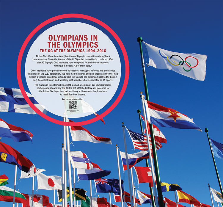 Olympians in the Olympics